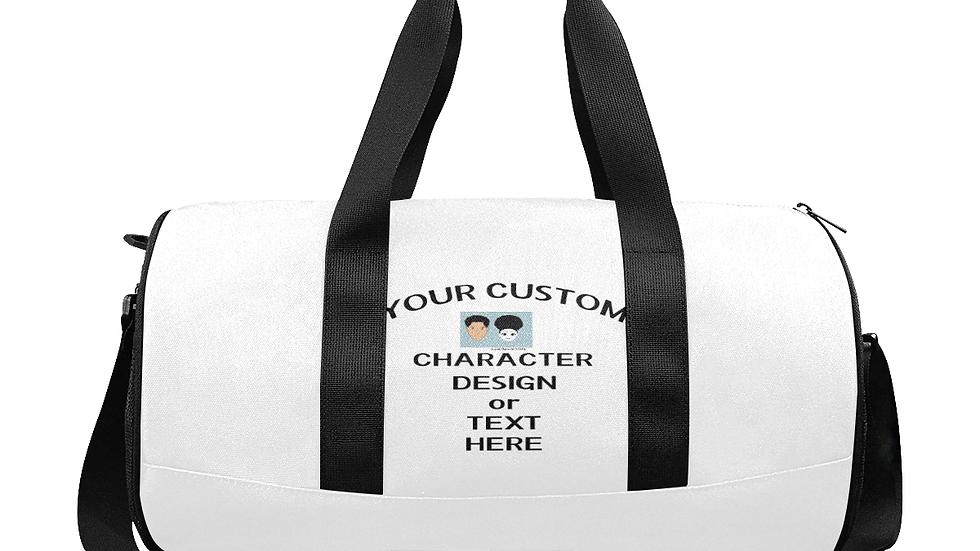 Custom Duffle Bag - Customizable