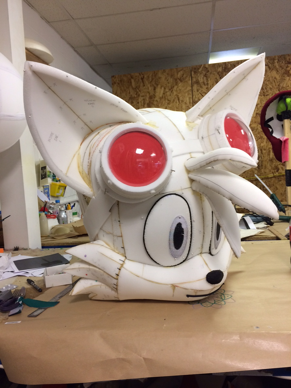 Tails Plastizote Sculpt