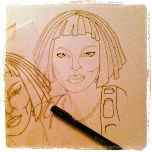 leeloo outline