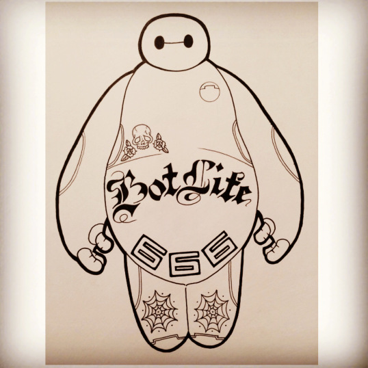 Bad Ass Baymax