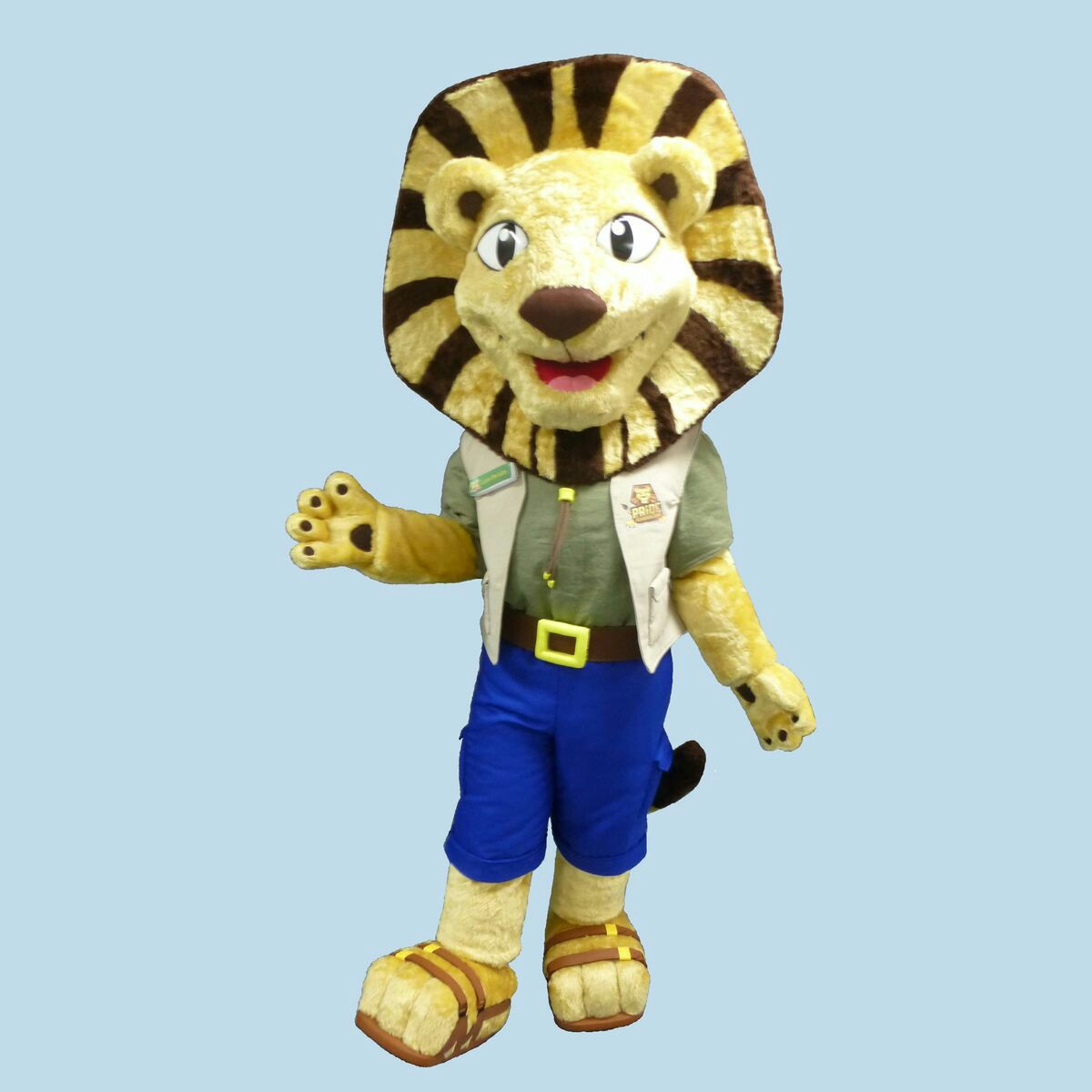 Llew lion, Folly Farm
