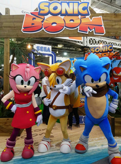 Tails-Sonic Boom