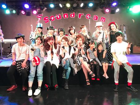 soundream LIVE vol.08 ありがとうございました!!!