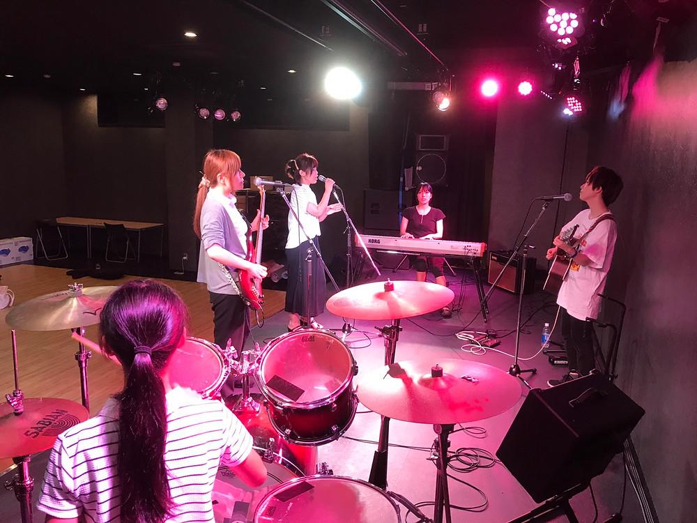 soundream バンド練習風景 201708