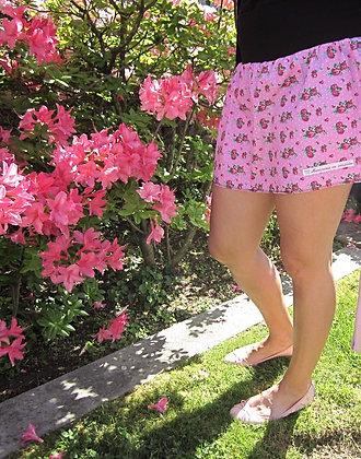 Falda Flores y flores