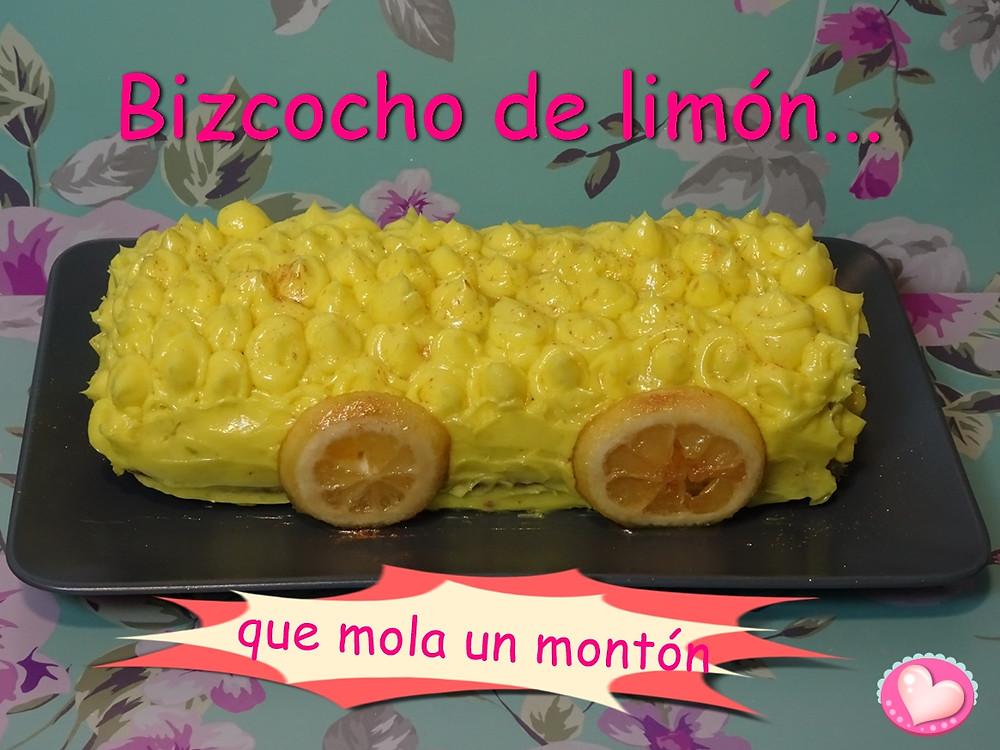 Bizcocho de limón que mola un montón