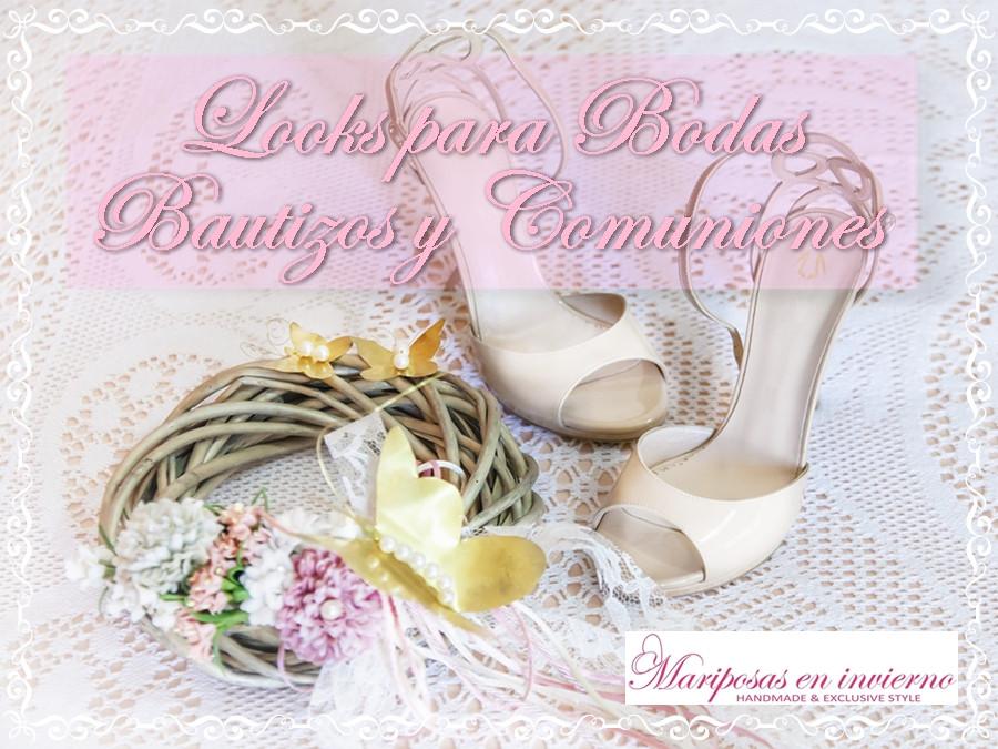 Looks únicos para bodas, bautizos y comuniones by Mariposas en invierno