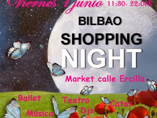 Conciertos, ballet, motos... Bilbao Shopping Night