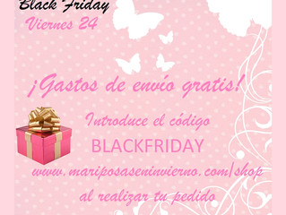 ¡Black friday, Pink Friday!