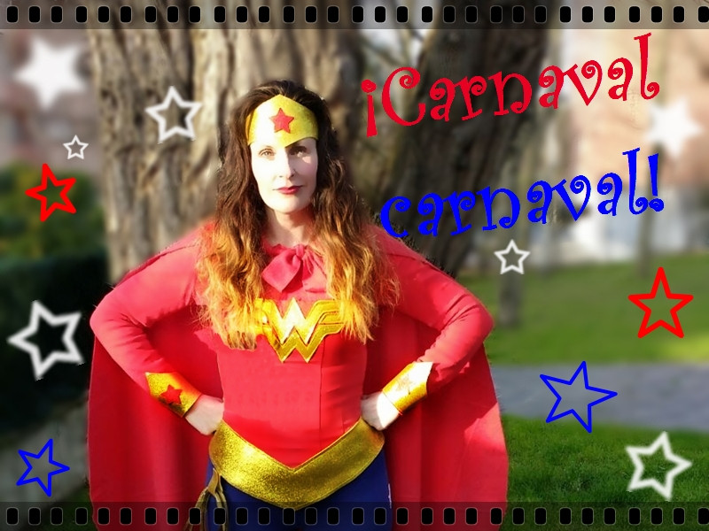 Disfraz Wonder Woman DIY