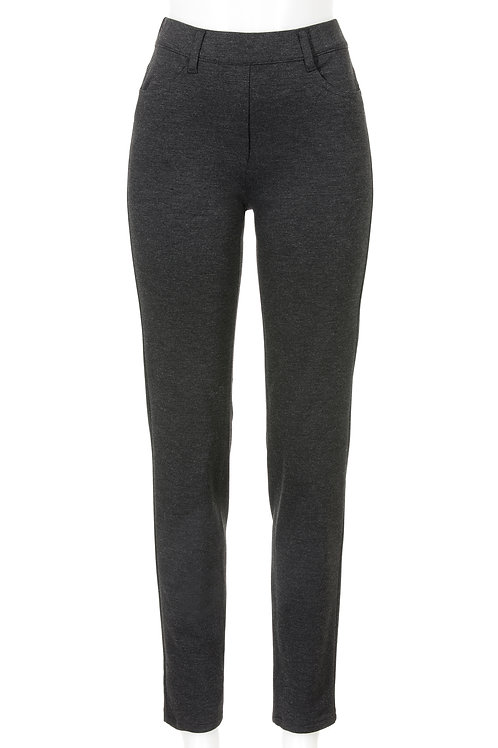 Slim Fit Leggings Janna , anthrazit melange