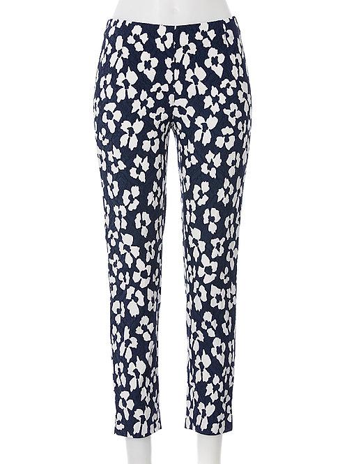 Leggings Jacky Fashion Print marine/white