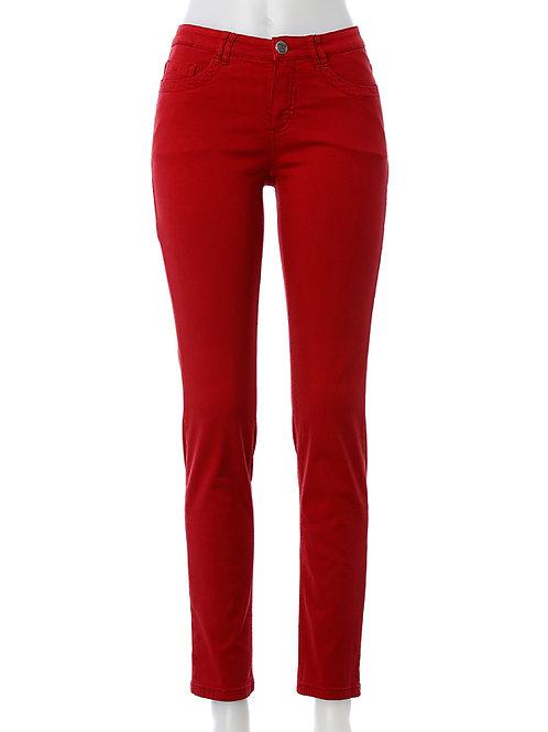 Shaping Jeans BODY PERFECT – karminrot / Power Denim Slim Fit