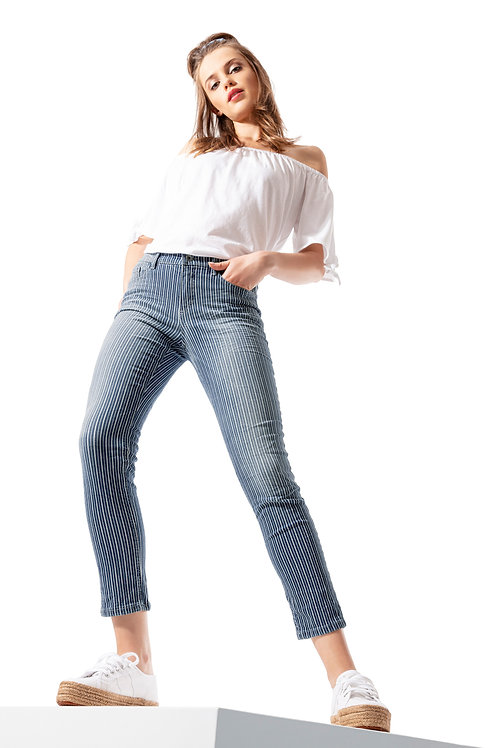 Shaping Jeans BODY PERFECT 72 – stripes