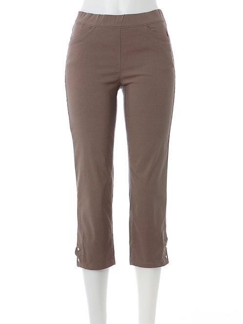 Leggings JANNA 58 – taupe / Super-Stretch