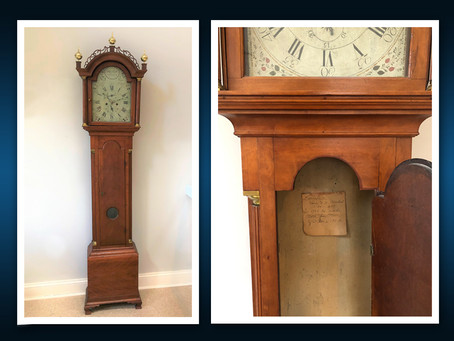 """An Antique Clock Story: Once Upon A """"Time"""""""
