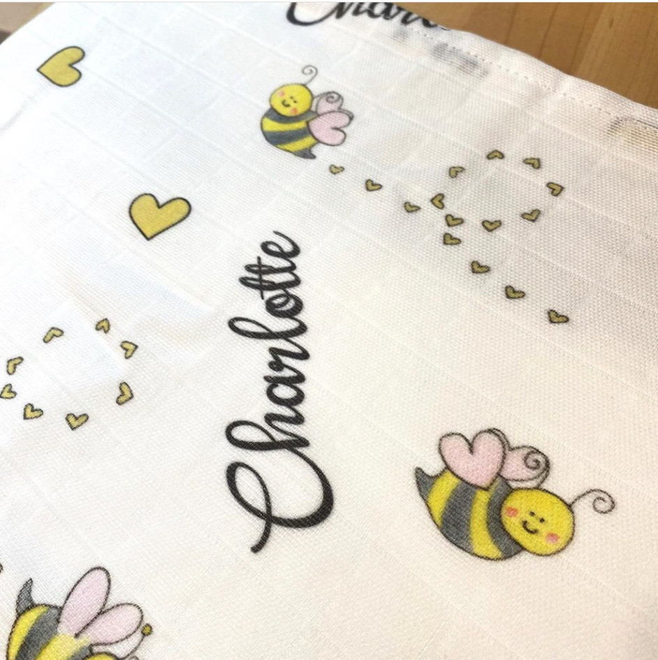 Bee swaddle
