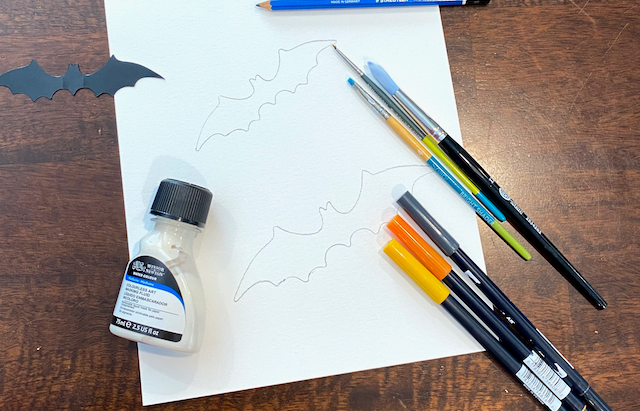 How to: Blend backgrounds using Tombow Dual Brush Pens