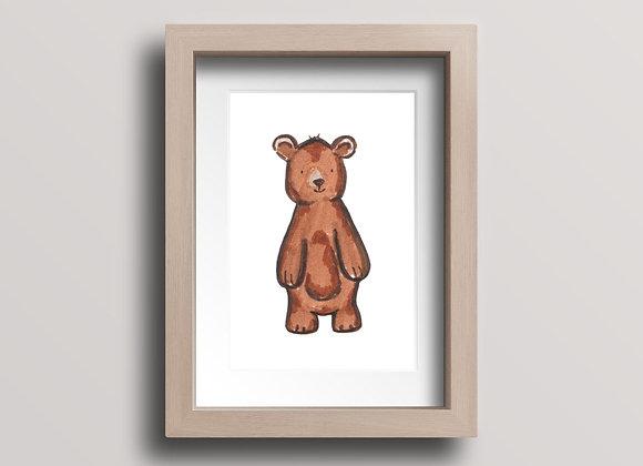 Bear- Original Ink Illustration