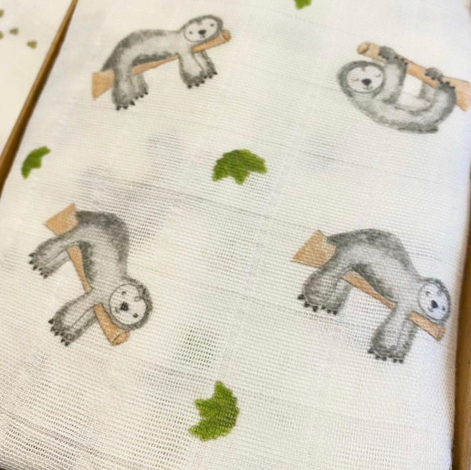 Sloth swaddle