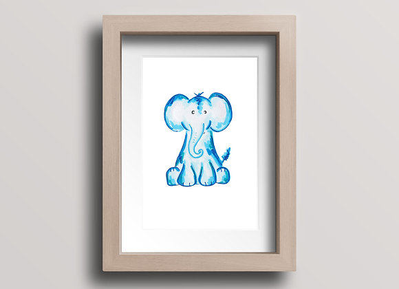 Elephant- Original Ink Illustration