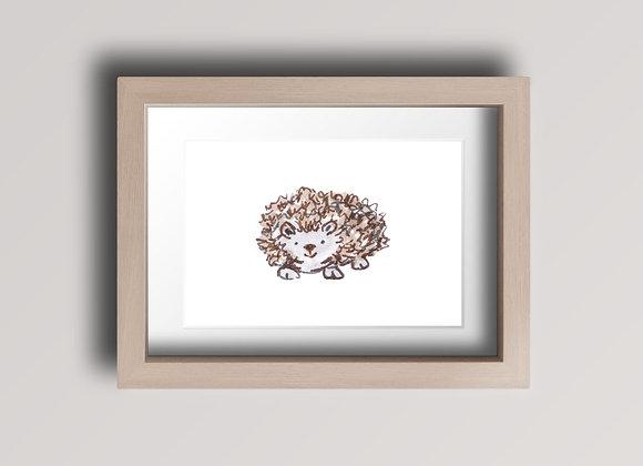 Hedgehog- Original Ink Illustration