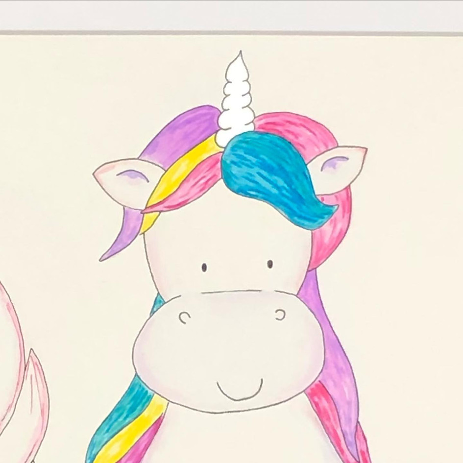 Closeup Unicorn