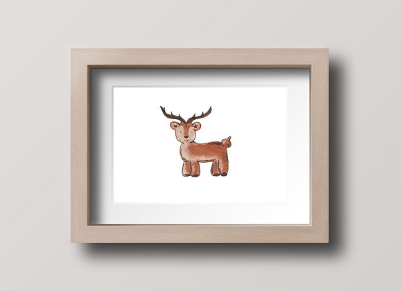 Buck- Original Ink Illustration