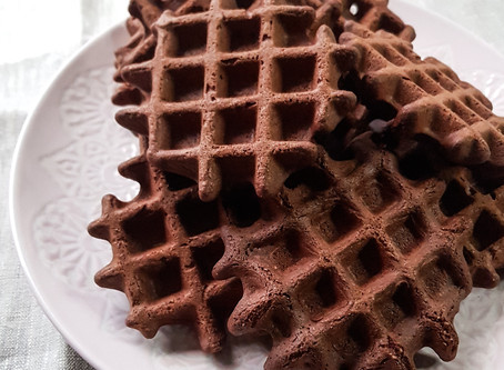 Chocolate waffles (gluten and oil free)
