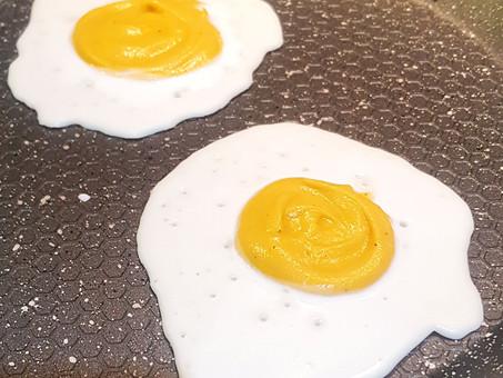 Vegan eggs... surprisingly delicious!