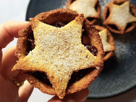 Plant-based fruit mince pies