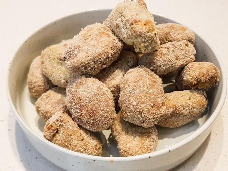 No-chicken (jackfruit) nuggets