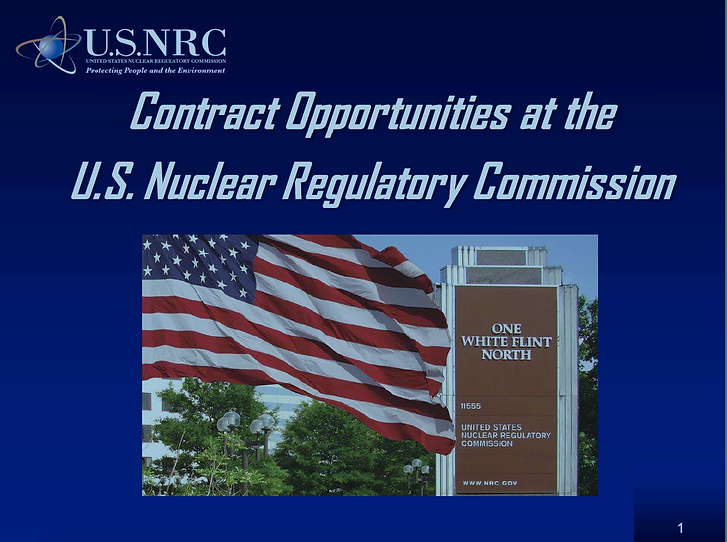U.S. Nuclear Regulatory Commission