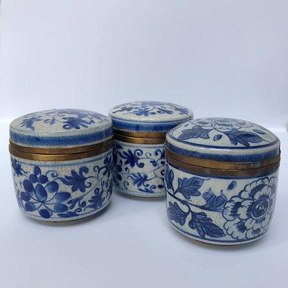 Porcelain Round Trinket