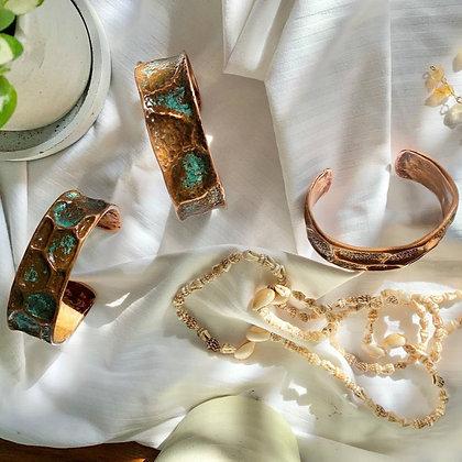 Project Borneo Copper Cuffs