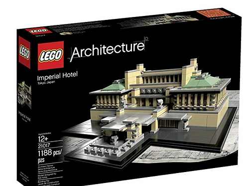 Lego Architecture 21017 İmperial Hotel