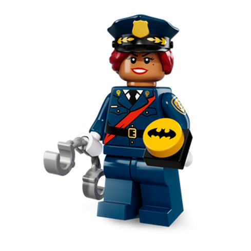 Lego Minifigür Batman Seri 1 Barbara Gordon