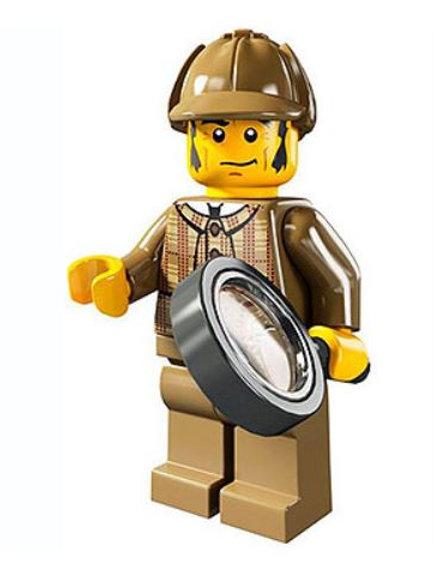 Lego Minifigür Seri 5 Detective No:11