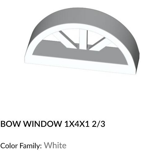 Bow Window 1x1x1 2/3