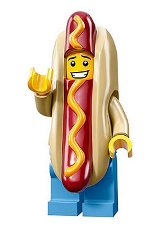 Lego Minifigür Seri 13 Hotdog Man No:14