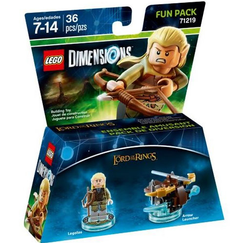 Lego Dimensions 71219 The Lord of the Rings (Legolas and Arrow Launcher)