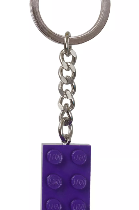 Lego 853379 Mor Brick Anahtarlık