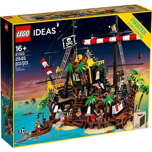Lego İdeas 21322 Pirates Of Barracuda Bay