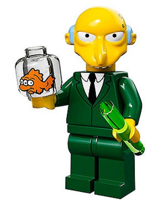 Lego Minifigür Simpsons Mr.Burns No:16