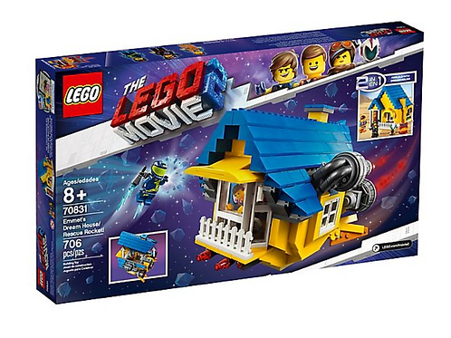 Lego Movie 2 70831 Emmet's Dream House/Rescue Rocket!