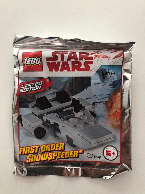 Lego Star Wars First Order Snowspeeder Polybag