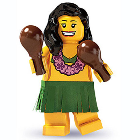 Lego Minifigür Seri 3 Hulo Dancer No:14