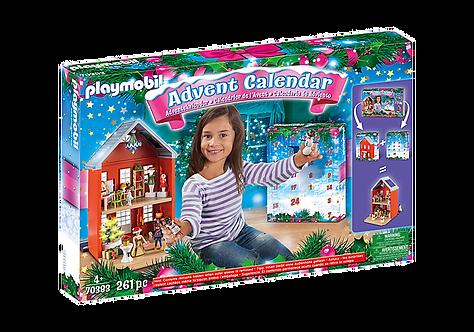 Playmobil 70383 Jumbo Advent Calendar - Family Christmas