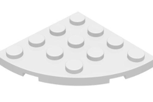 Part 30565] Plate, Round Corner 4 x 4