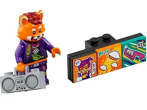 Lego Vidiyo Red Panda Dancer Bandmates Series 1 - 7